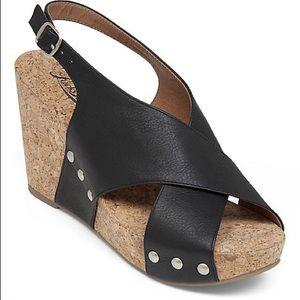 Lucky Brand Minari wedge sandals